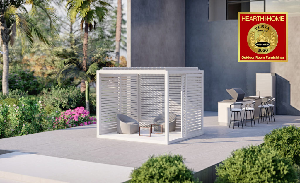 Modular pergola K-Bana by Azenco Outdoor