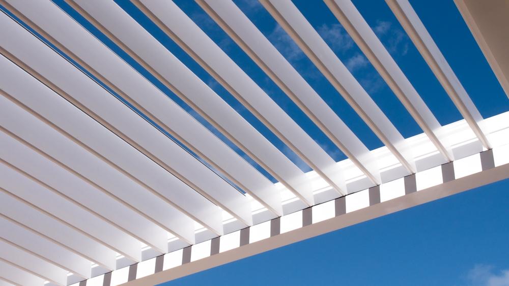 louvered roof pergola orientation