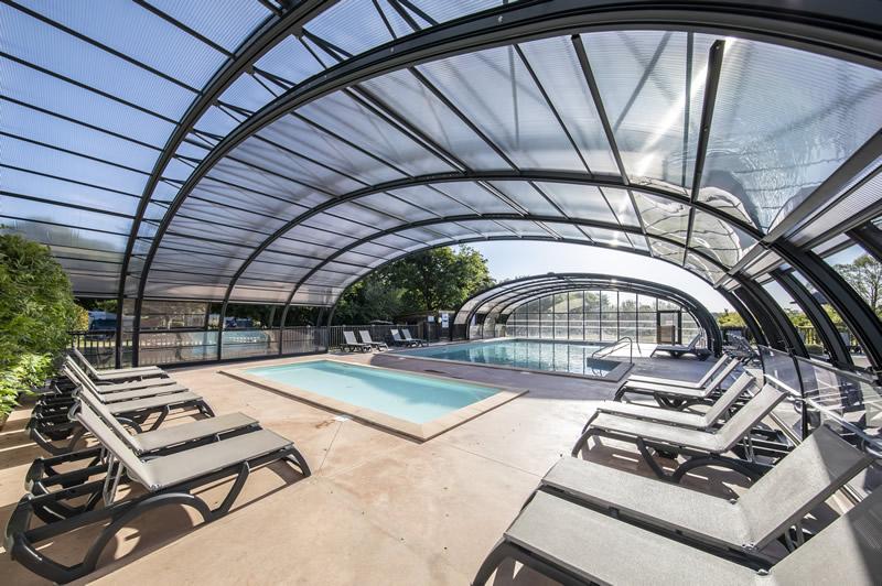 Automated massive outdoor cover - waterpark - Azenco