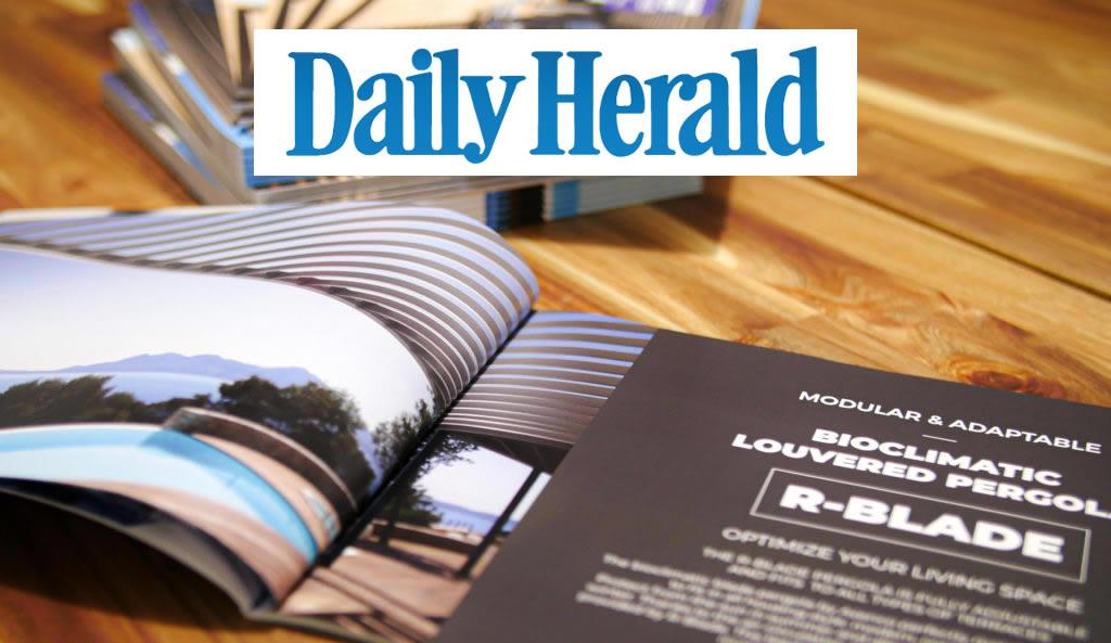 Azenco pergola daily herald chicago article